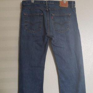 Mens Levi's 501 Jeans.